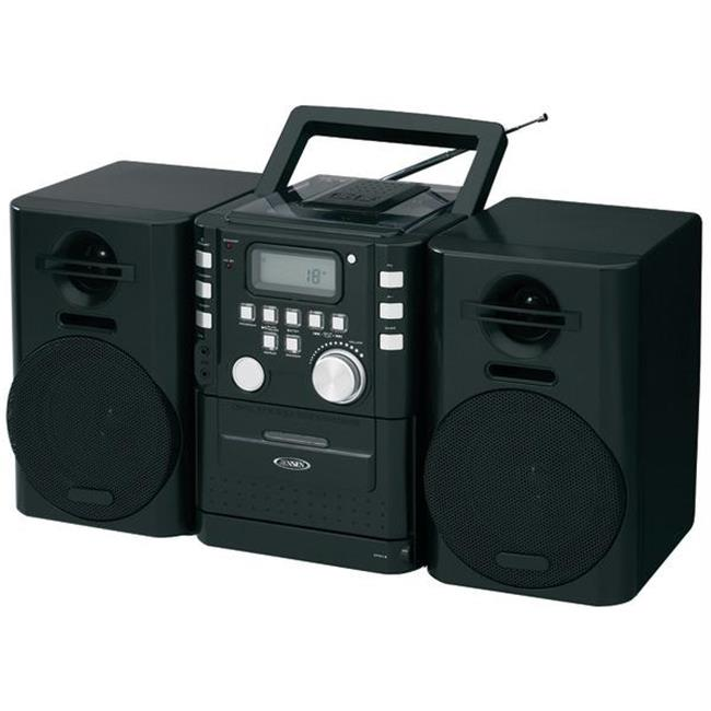 Portable Cd Music System With Cassette & Fm Stereo Radio