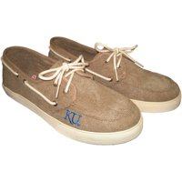Men's Kansas Jayhawks Captain Shoes - Khaki