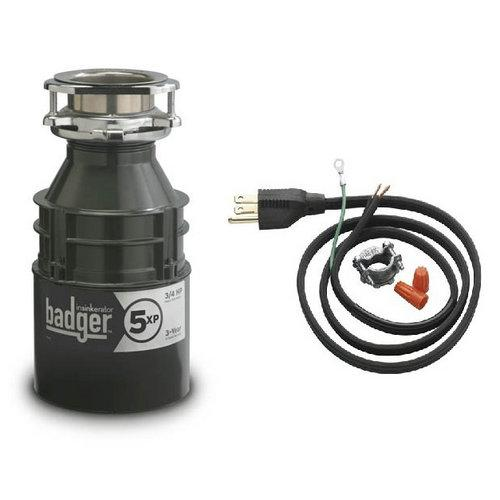 badger 1 2 hp garbage disposal insinkerator badger 5xp badger 3 4 hp garbage disposal 9073