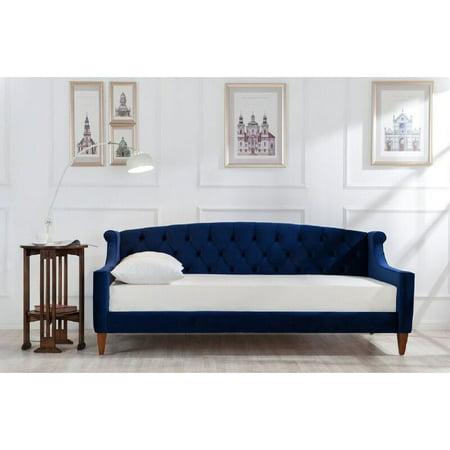 Jennifer taylor lucy upholstered sofa bed walmartcom for Jennifer taylor sofa bed