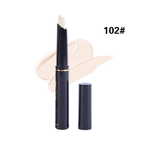 Music Flower Double Ended Makeup Highlight Brighten Face Shimmer Stick Concealer Pen Contour Pencil Oil-Control Product](Pencil Face)