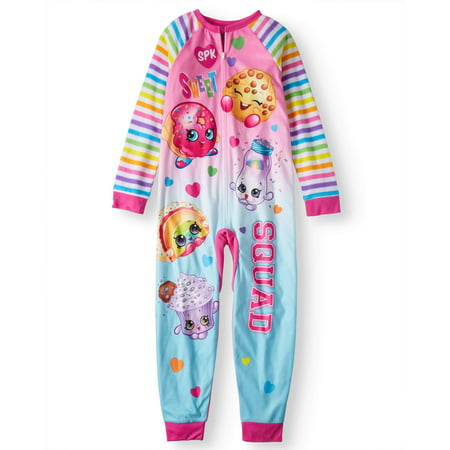 Girls Shopkins Onesie Pajama Sleeper (Big Girls & Little Girls)