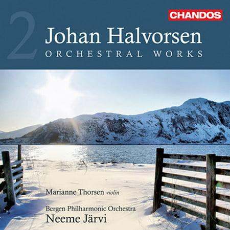 J. Halvorsen - Johan Halvorsen: Orchestral Works, Vol. 2 [CD]