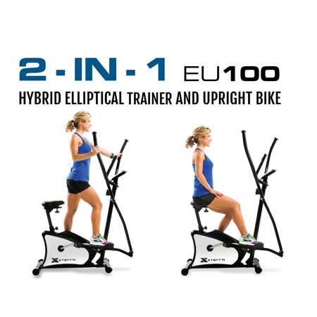XTERRA Fitness EU100 Elliptical Dual Trainer with Seat