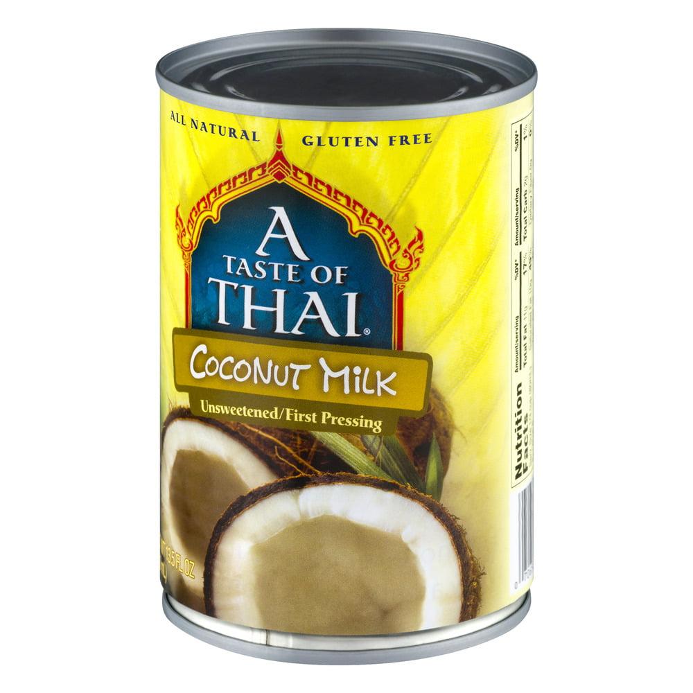 A Taste Of Thai Coconut Milk a taste of thai coconut milk, 13.5 fl oz - best milk & cream