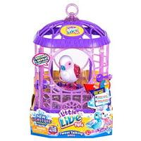 little live pets bird with cage - bessie bestie