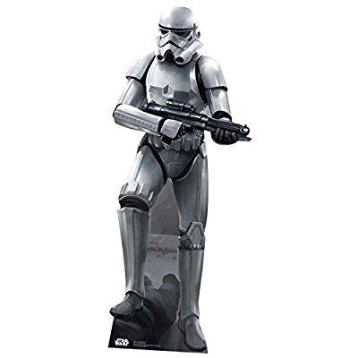 Star Cutouts SC841 Stormtrooper Battle Pose Cardboard Cut out by Star Cutouts Ltd