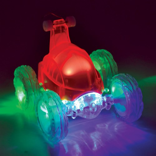 Turbo Twisters Pulse RC Stunt Vehicle - Red (27 MHz)