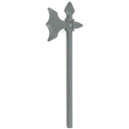 Castle Weapon (LEGO LEGO Castle Gray Halberd Loose Weapon)