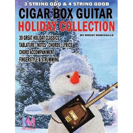 Estate Cigar Box - Cigar Box Guitar - Holiday Collection