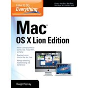 How to Do Everything Mac OS X Lion Edition - eBook