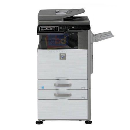 Demo Unit Sharp MX-M465N A3 Monochrome Laser Multi Function Printer - 46ppm, Print, Scan, Copy, Auto Duplexing, 1200 x 1200 DPI, 2 Trays, Stand