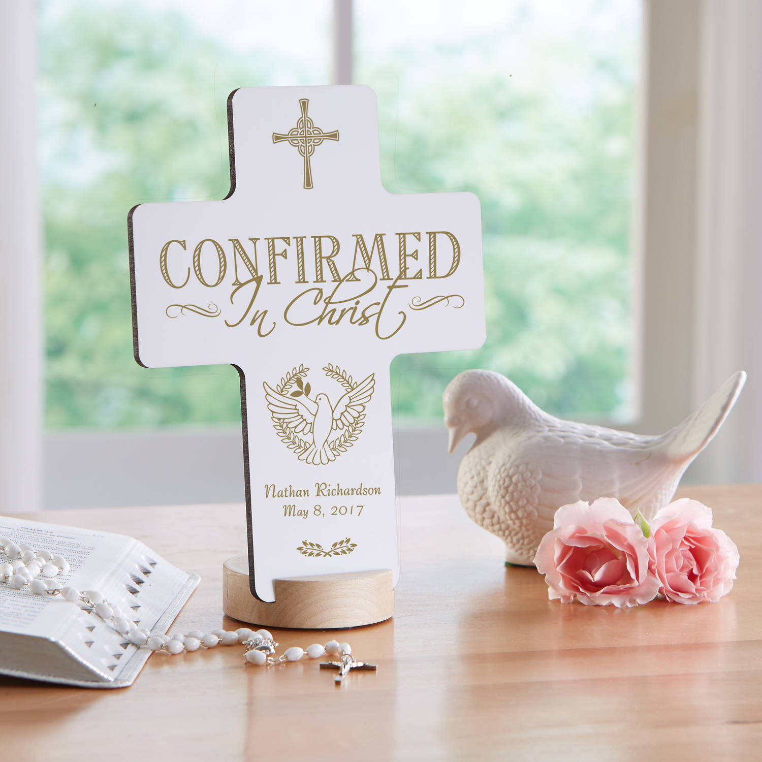 Personalized Confirmation Keepsake Cross