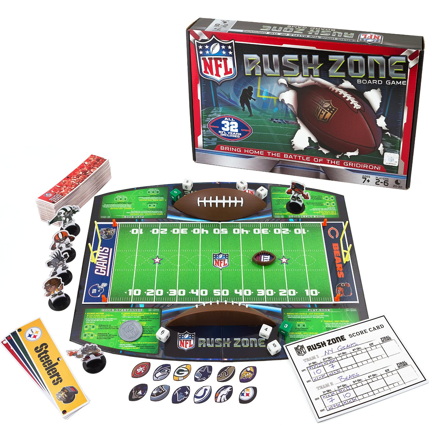 NFL Rush Zone GameChoose your favorite NFL team and battle it out against all rivals, when you play the NFL... by
