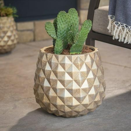 Belham Living Pineapple Ceramic Planter