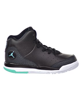 new arrival 9dcb1 9098f Product Image Jordan Flight Tradition BP Little Kid s Shoes Black Hyper  Turquoise Anthracite White 819539