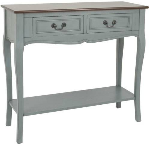Better Homes and Gardens Two-Tone 2-Drawer Console Table, Multiple Colors by JIMCO LAMP CO.