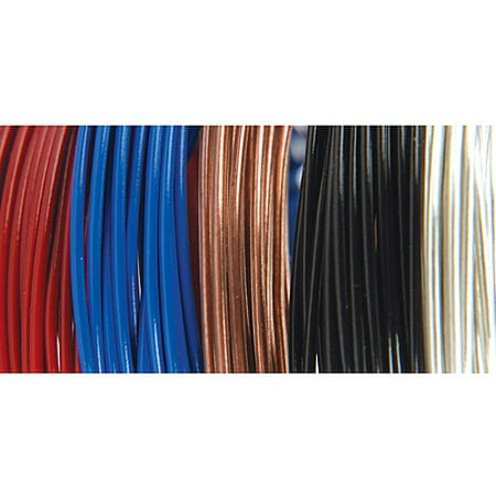 Value Pack Fun Wire Plastic Coated Copper -