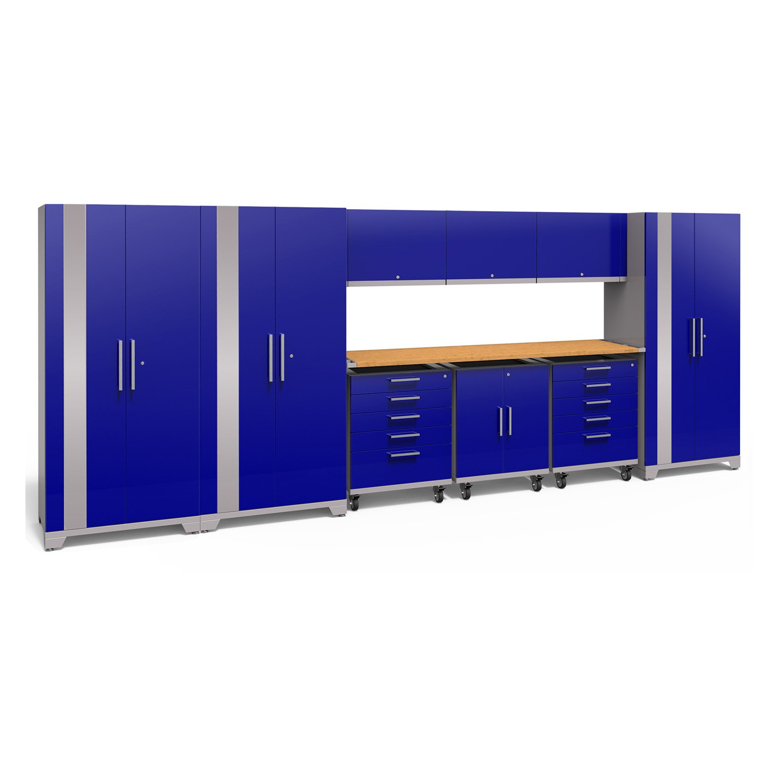 NewAge Products Performance Plus 2.0 Cabinet System with Mobile Spacer Kit