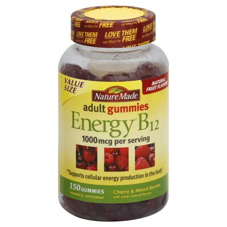 Nature Made Energy B12 Adult Gummies Value Size ()