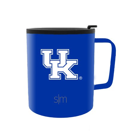 Simple Modern University of Kentucky 12oz Scout Coffee Mug - Vacuum Insulated UK Wildcats 18/8 Stainless Steel Travel Tumbler Powder Coated Tea Cup - Halloween Tumblers Uk