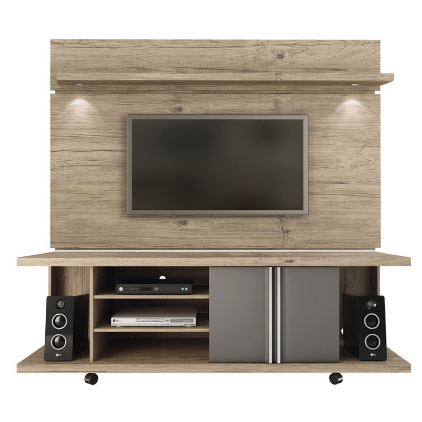 Manhattan Comfort Carnegie 71 in. TV Stand