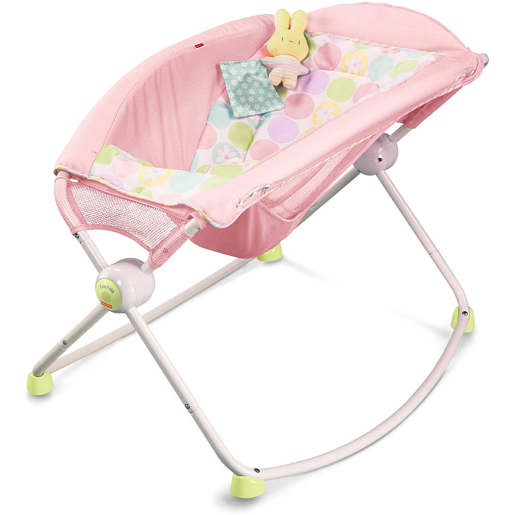 Fisher-Price - Newborn Rock and Play Sleeper, Pink