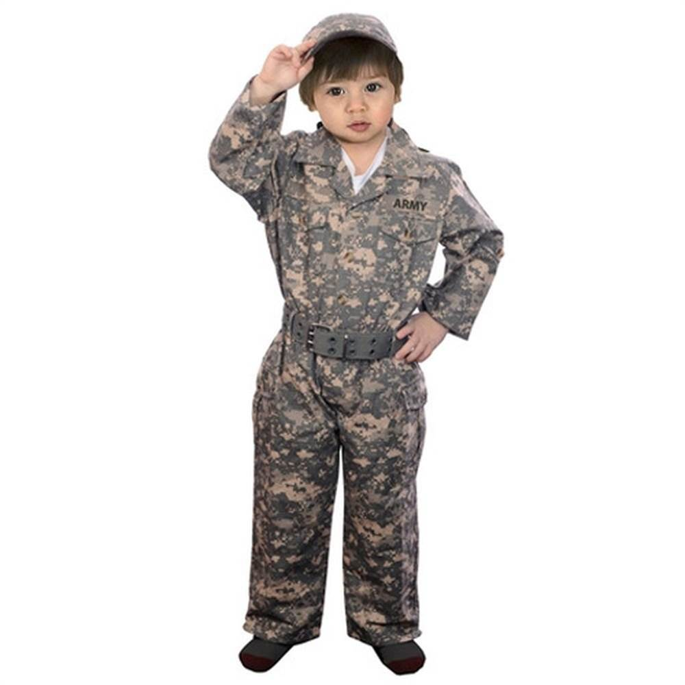 Aeromax Baby Little Boys Army Camouflage Halloween Costume 18M-14