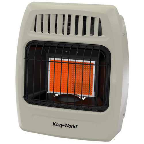 DuraHeat Kozy World 6,000 BTU Infrared Natural Gas Wall Heater