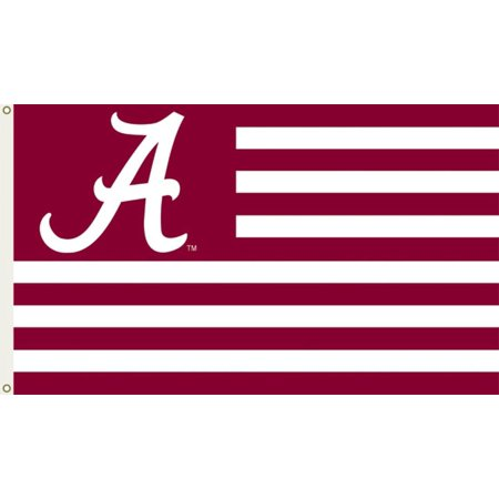 Ncaa Door Flag - NCAA Alabama Crimson Tide Flag with Grommets Flag - 60x36