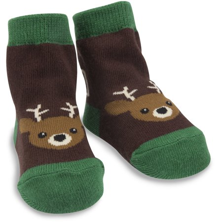Izzy & Owie One Size Fits All Baby Camouflage Deer Socks