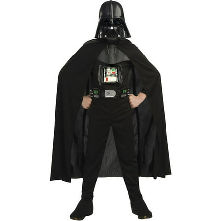 Darth Vader Deluxe Reflective Child Halloween - Darth Vader Costumes Kids