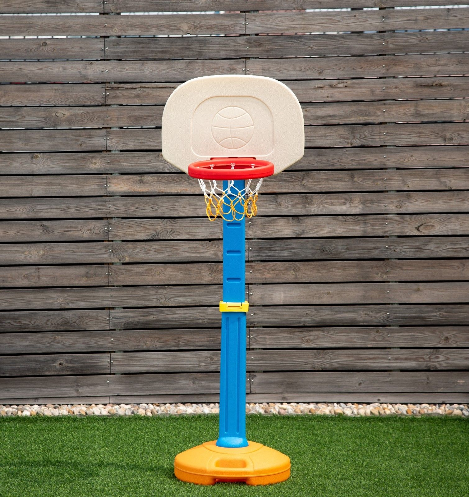 Costway Kids Children Basketball Hoop Stand Adjustable Height Indoor Outdoor Sports Toy
