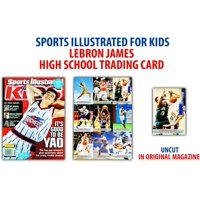 LeBron James Cleveland Cavaliers Sports Illustrated for Kids High School Trading Card
