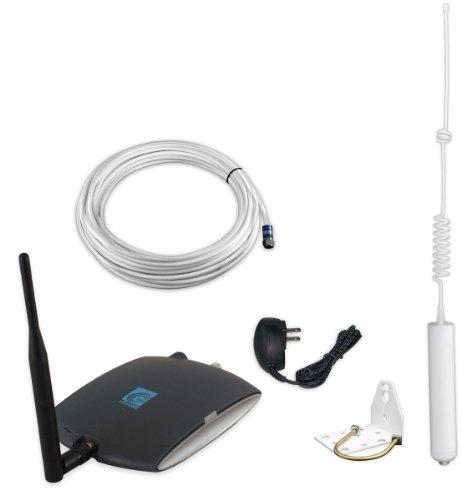 zBoost ZB575-A TRIO SOHO Tri Band AT&T 4G Cell Phone Signal Booster, up to 2,500 sq. ft.