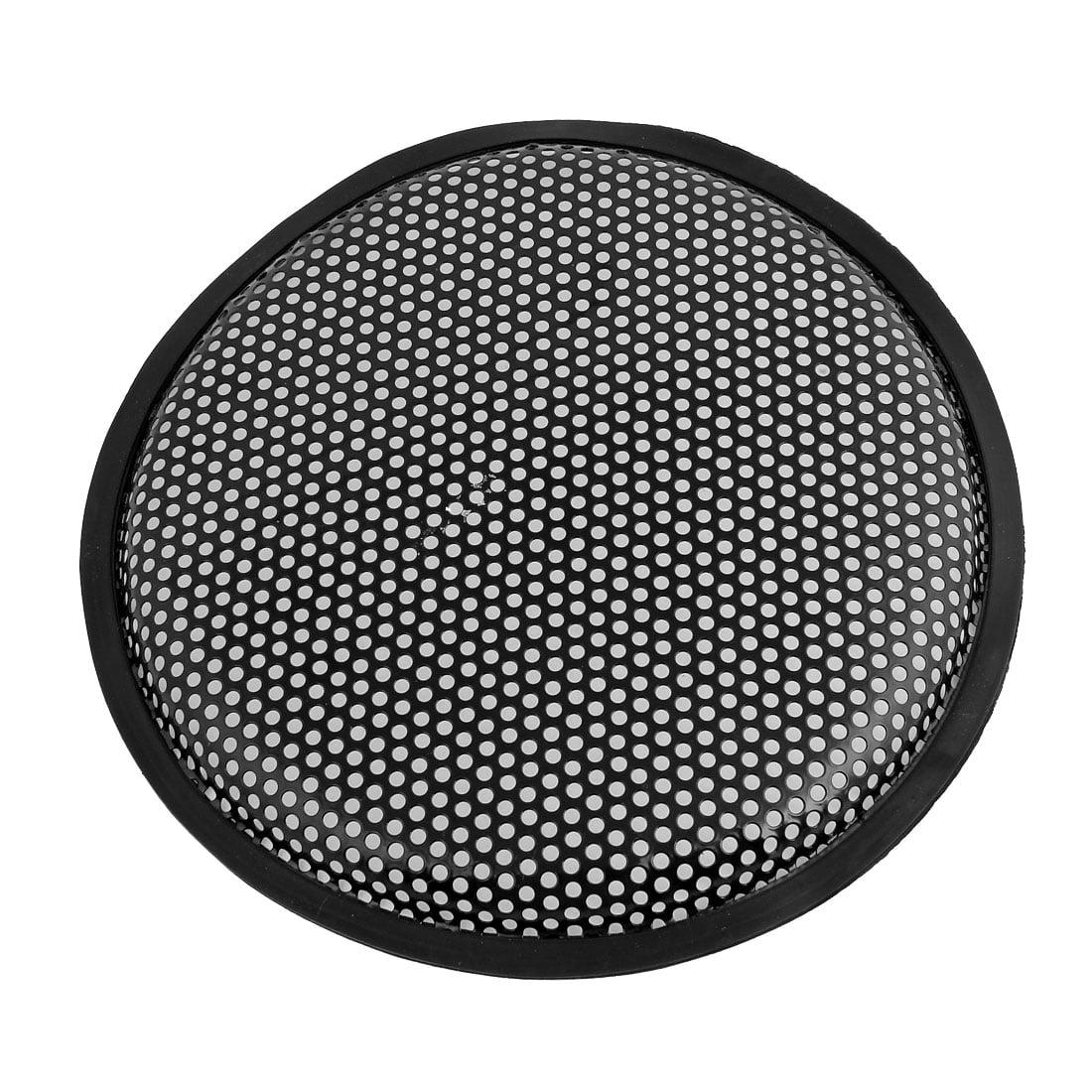 """Unique Bargains Auto Car Black 10"""" Round Metal Mesh Speaker Sub Box Subwoofer Grill Cover"""
