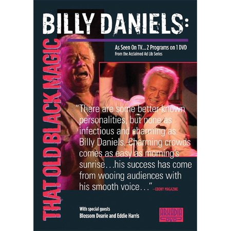Hal Leonard Billy Daniels   That Old Black Magic  Visions Of Jazz Series  Dvd Series Dvd Performed By Billy Daniels