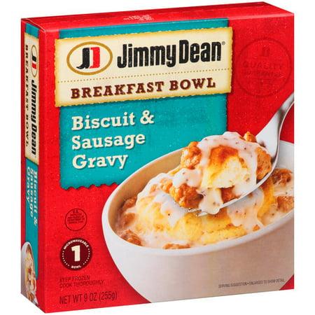 Jimmy Dean Breakfast Bowl Biscuit & Sausage Gravy, 9 oz ...