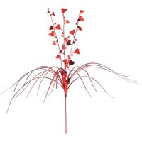 Red Hearts Foil Spray for Centerpieces and Decorations
