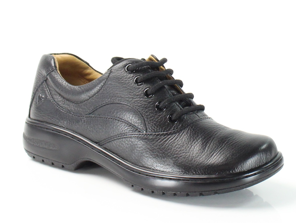 Nurse Mates New Black Macie Size 5M Lace-Up Nursing Leather Shoes SALE by Nurse Mates