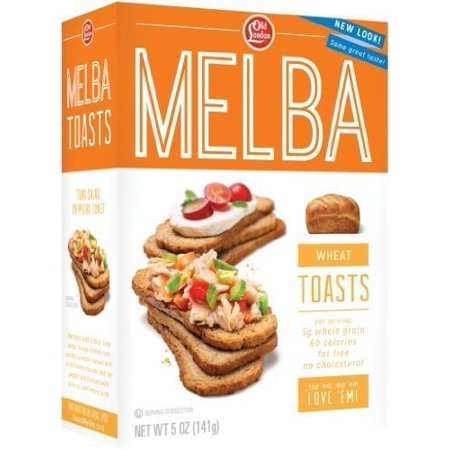 Melba toast Wheat 4 Pack](Toasts D'halloween)