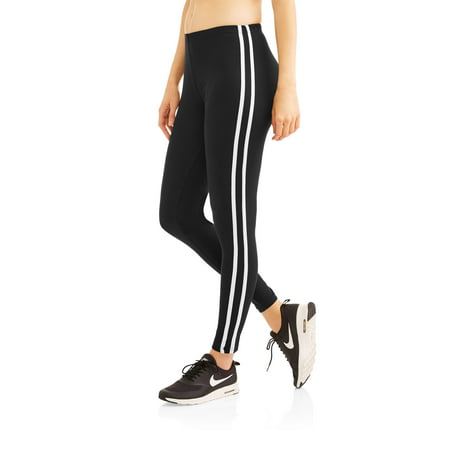 1ccf29a494f08 H+H by Harmony & Havoc - H+H Women's Athleisure Lounge Leggings With Athletic  Side Stripe - Walmart.com
