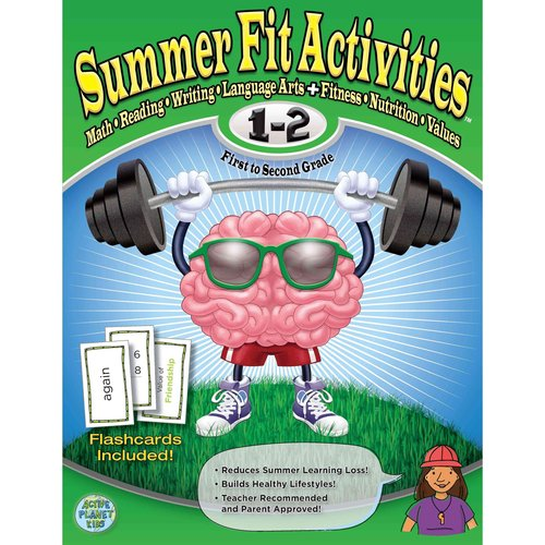 Summer Fit First to Second Grade: Math, Reading, Writing, Language Arts   Fitness, Nutrition and Values