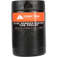 Ozark Trail 12-ounce Vacuum Insulated Can Cooler w/Metal Gasket