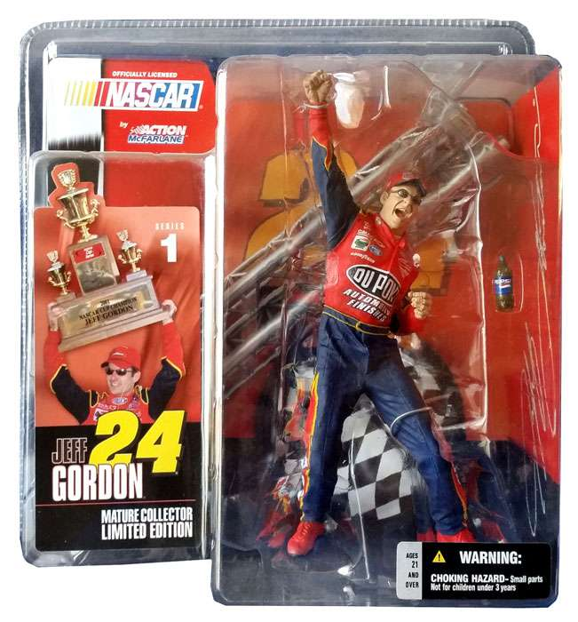 McFarlane Nascar Series 1 Jeff Gordon Action Figure by McFarlane Toys