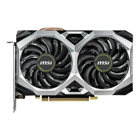 MSI Ventus GeForce RTX 2060 Ventus XS 6G OC GeForce RTX 2060 Graphic Card - 1.71 GHz Boost Clock - 6 GB GDDR6