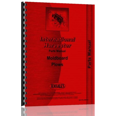 International Harvester 510 Plow Parts Manual Plow Parts Manual