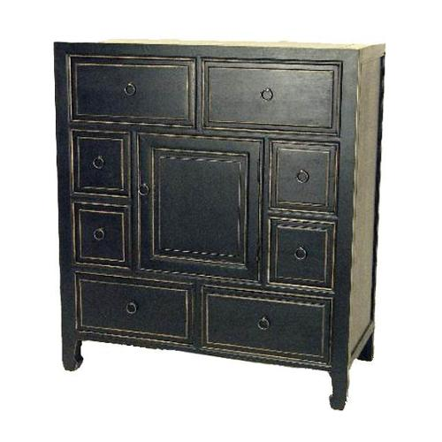 Suchow Apothecary Chest w Drawers & Door