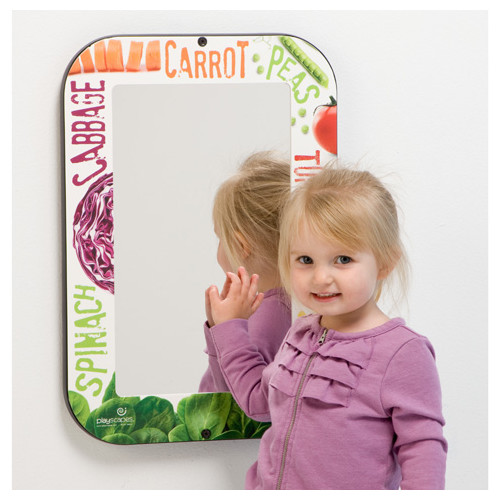 Playscapes Veggie Wall Mirror