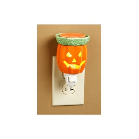 5 Quot Orange Jack O Lantern Ceramic Halloween Wax Warmer